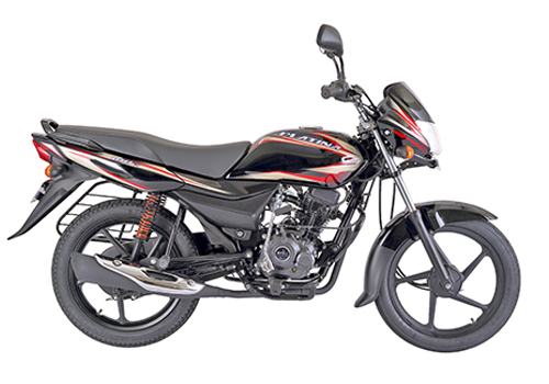platina 100 ES black bikes